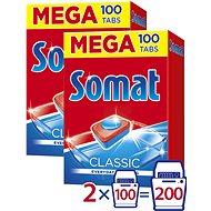 SOMAT Classic MEGA 2× 100 ks - Tablety do myčky