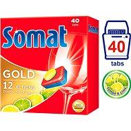 SOMAT Gold Lemon & Lime 40 ks - Tablety do myčky
