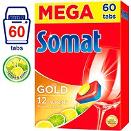 SOMAT Gold Lemon & Lime MEGA 60 ks - Tablety do myčky