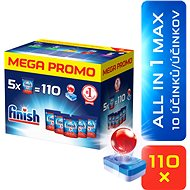 FINISH All in1 Max 110 ks MEGABOX - Tablety do myčky