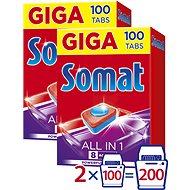 SOMAT All in 1 Tabs 2× 100 ks