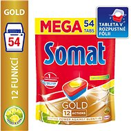 SOMAT Gold Lemon & Lime 54 pcs - Dishwasher Tablets