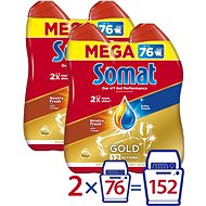 SOMAT Gold Neutra Fresh 4× 684ml - Dishwasher Gel