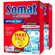 SOMAT Salt 2× 1.5kg - Dishwasher Salt