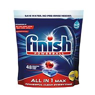 FINISH All in 1 Max Lemon 48 ks - Tablety do myčky