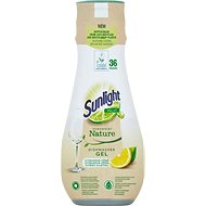 SUNLIGHT Nature All in 1 Citrus 640ml (36 doses) - Eco-Friendly Dishwasher Gel Detergent