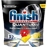 FINISH Quantum Ultimate Lemon Sparkle 32 ks - Tablety do myčky