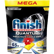 FINISH Quantum Ultimate Lemon Sparkle 65 pcs - Dishwasher Tablets