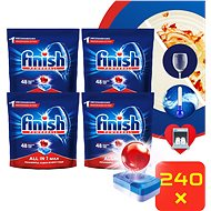 FINISH All-in-1 Max 240 ks - Tablety do myčky