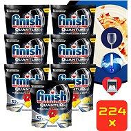 FINISH Quantum Ultimate Lemon Sparkle 224 ks - Tablety do myčky