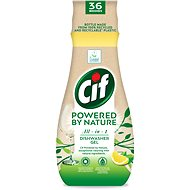 CIF All in 1 Nature Gel for dishes 640 ml - Eco-Friendly Dishwasher Gel Detergent