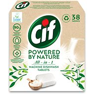CIF All in 1 Nature Dishwasher tablets 38 pcs - Eco-Friendly Dishwasher Tablets
