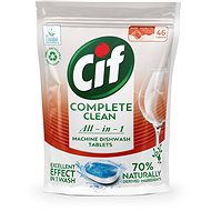 CIF All in 1 Regular 70% Naturally 46 Pcs - Eco-Friendly Dishwasher Tablets