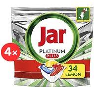 JAR Platinum Plus Quickwash 4× 34 ks - Tablety do myčky