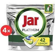 JAR Platinum Lemon  4× 42 ks - Tablety do myčky