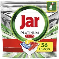 JAR Platinum Plus Lemon 56 ks - Tablety do myčky