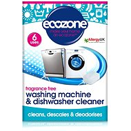 Čistič myčky ECOZONE čistič myček a praček 6 ks