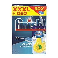 FINISH Classic 90 pcs + Dishwasher Freshener Lemon & Lime