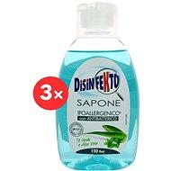 DISINFEKTO Sapone 3 × 300 ml - Tekuté mýdlo