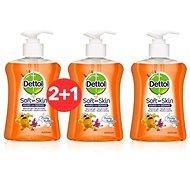 DETTOL Kids Tekuté mýdlo Ovocné bubliny 250 ml 2+1 - Dětské mýdlo