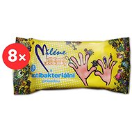 MILLENNE antibacterial wet wipes 8 × 15 pcs - Wet Wipes