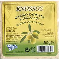 KNOSSOS Řecké olivové mýdlo přírodní bílé 200 g - Tuhé mýdlo