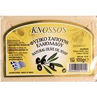KNOSSOS Řecké olivové mýdlo přírodní bílé 100 g - Tuhé mýdlo