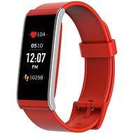 MyKronoz ZeFit4 HR Red/Silver - Chytré hodinky