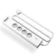 Meross Smart WiFi Power Strip 4 AC + 4 USB Ports  - Chytrá zásuvka