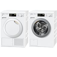 MIELE WDB 020 + MIELE TDB 220 WP Active - Washer and dryer set