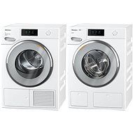 MIELE WWV 980 WPS Passion + MIELE TWV 680 WP Passion - Washer and dryer set