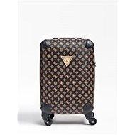 GUESS Wilder Peony Logo Trolley - Brown - Cestovní kufr