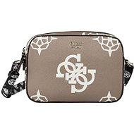 GUESS Maxi Logo Print GUESS Taupe Multi - Handbag