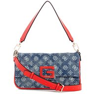 GUESS Brightside Denim Shoulder Bag - Denim - Handbag