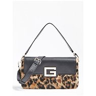 GUESS Brightside Shoulder Bag -Leopard - Handbag