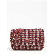 GUESS Cessily Tweed GUESS Merlot - Handbag