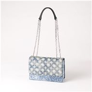 GUESS Kaylyn Convertible Xbody Flap - Denim - Handbag