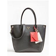 GUESS Kirby Pochette Charm Shoulder Bag - Black - Kabelka