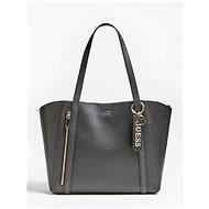 GUESS Naya Front Zip Shopper - Black - Handbag