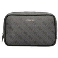 GUESS Vezzola 4g Logo Vanity Bag - Black - Kosmetická taštička
