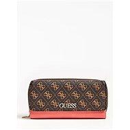 GUESS Camy 4g Logo Colour-Block Wallet - Brown Multi - Peněženka