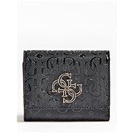 GUESS Chic Shine Mini Wallet - Black - Peněženka
