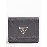 GUESS Kirby Logo Triange Wallet - Black - Peněženka