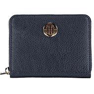 TOMMY HILFIGER The Core Zip-Around Wallet AM0AM08490 Navy Blue - Peněženka
