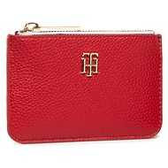 TOMMY HILFIGER Signature Monogram Slim Wallet AM0AM09288 Red - Peněženka