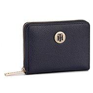 TOMMY HILFIGER The Core Compact Zip-Around Wallet AW0AW06846 Navy Blue - Peněženka