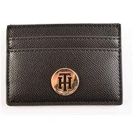 TOMMY HILFIGER Classic Saffiano Card Holder Brown - Peněženka