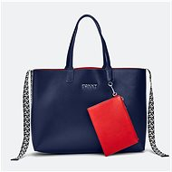 TOMMY HILFIGER Iconic Tommy Tote AW0AW07948 Sky Captain - Kabelka