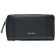 CALVIN KLEIN Large Zip-Around Wallet K60K604034201 Black - Peněženka