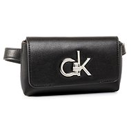 CALVIN KLEIN Monogram Belt Bag K60K606498BAX Black - Ledvinka